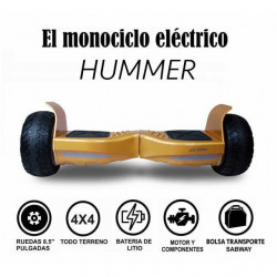MONOCICLO ELÉCTRICO HUMMER 4 X 4