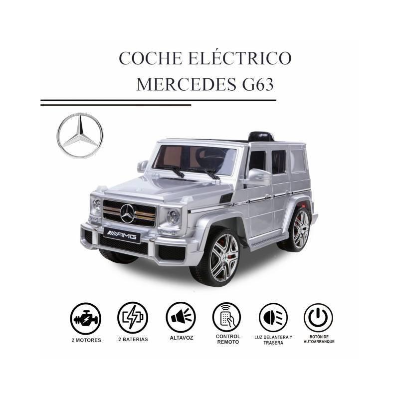 COCHE ELÉCTRICO NIÑO MERCEDES G63
