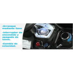 COCHE ELÉCTRICO RAPID RACER 12 V