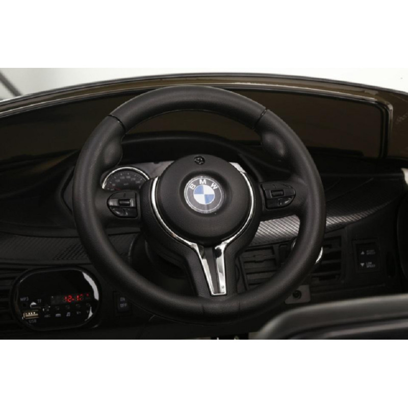 COCHE ELÉCTRICO INFANTIL  BMW X6 AZUL