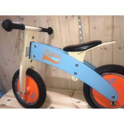 Bici sin pedales de madera...