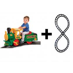 Trem elétrico para crianças...