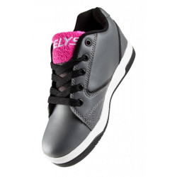 HEELYS PROPEL TERRY PINK/GREY