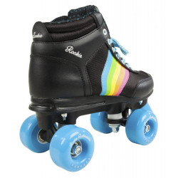 SKATES 4 WHEELS RAINBOW