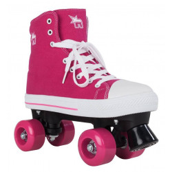 SKATES ROOKIE CANVAS ROSA ( TALK)