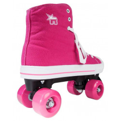 PATINS ROOKIE CANVAS ROSA ( CONVERSE)