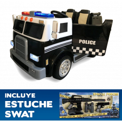 TRUCK OF POLICE FOR...