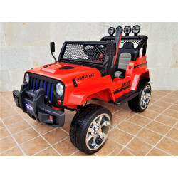 CAR ELECTRIC MONSTER 4X4 JEEP