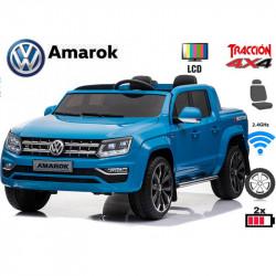Volkswagen Amarok com tela de vídeo.