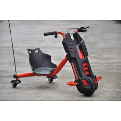 POWER DRIFT ELECTRIC TRIKE RED