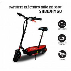 PATINETE ELÉCTRICO 500W INFANTIL