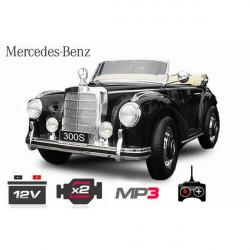 INFANT CAR MERCEDES BENZ 12V 300S BLACK