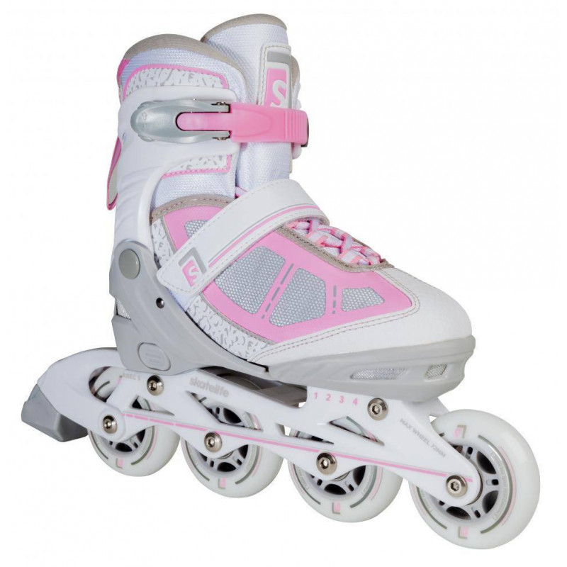 In-line skates adjustable LAVA PINK