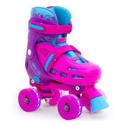 PATINS COM LUZES DE LED HURRICANE