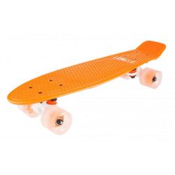 SKATE D Street Polyprop Neon Flash Cruiser Orange