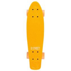SKATE D Street Polyprop Neon Flash Cruiser Orange