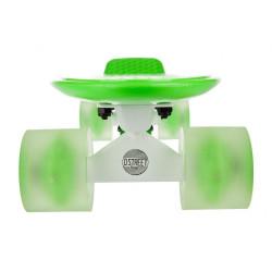D Street Polyprop Neon Flash Cruiser Verde