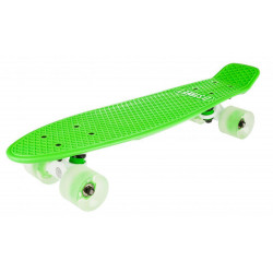 D Street Polyprop Neon Flash Cruiser Green