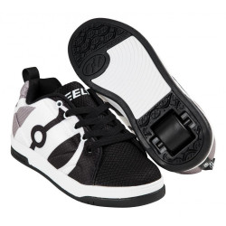 SHOES WITH WHEELS HEELYS REPEL BLACK AND WHITE