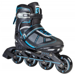 ADJUSTABLE SKATES IN FOUR SIZES LAVA BLUE