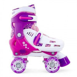 PATIN, ADJUSTABLE 4 WHEEL SFR STORM VISION PINK