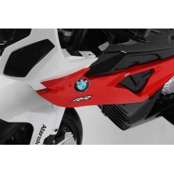 ENFANT MOTO BMW 12V S/H EN VITESSE S1000RR RÉSEAU