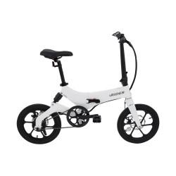 iWatBike iRider - Bicicleta Électrica Plegable Blanca