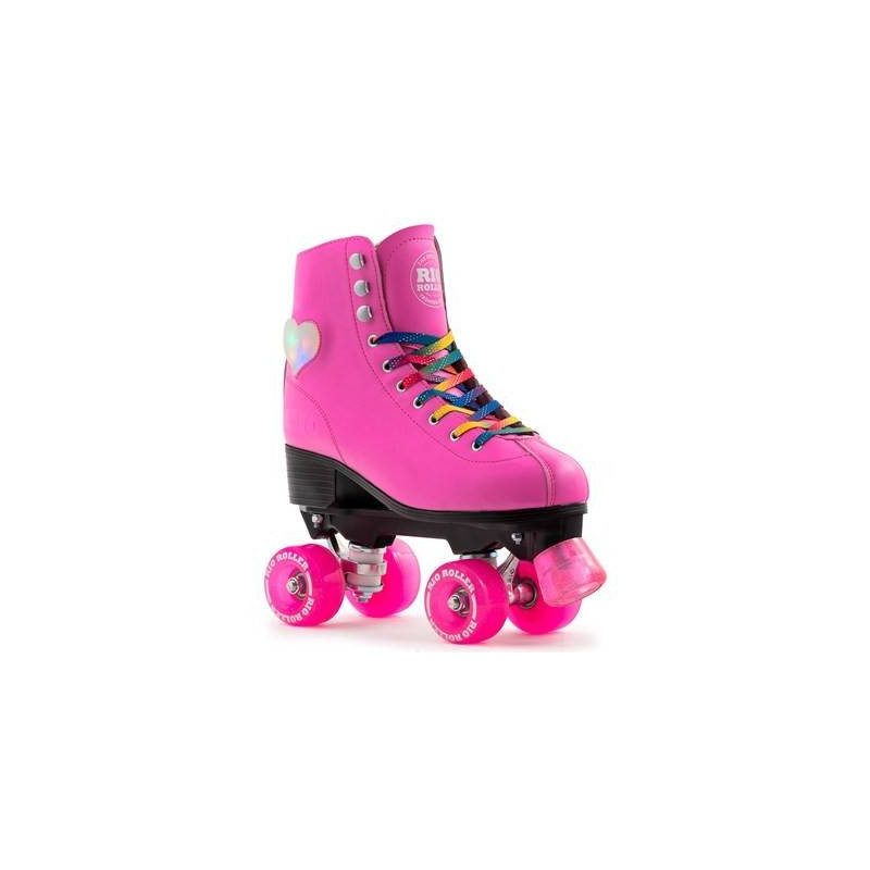 ROLLER SKATES WITH FOUR WHEELS WITH LIGHTS, ROLLER FIGURE