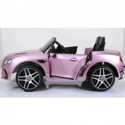 Infant car 12v Bentley Continental Pink