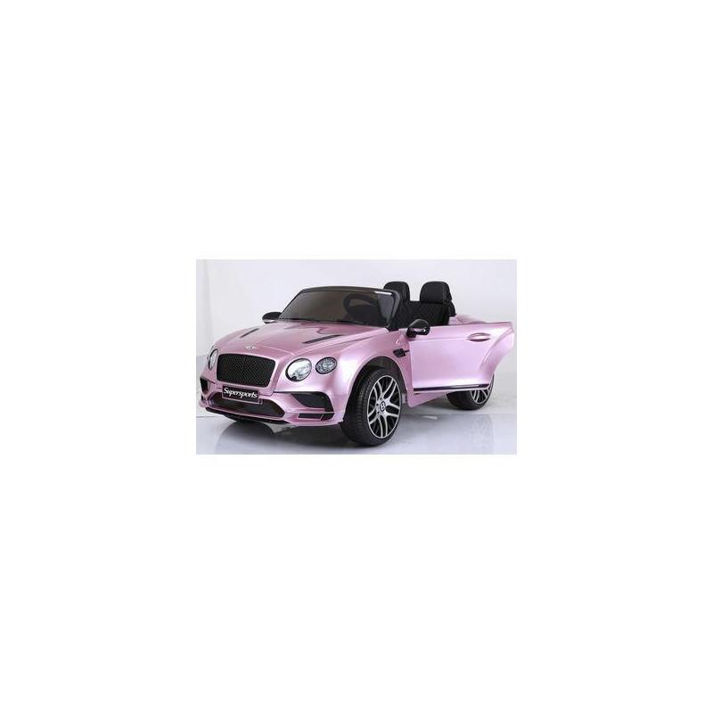 Coche infantil de 12v Bentley Continental Rosa