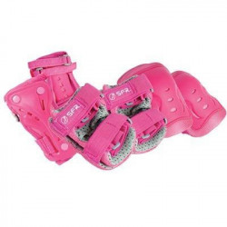 PACK OF PROTECTIONS-PINK/GREY
