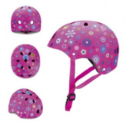 Casco Junior Globber Flores...