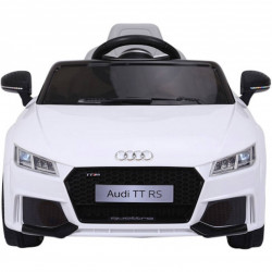 ELECTRIC CAR CHILDREN AUDI TT RS 12V WHITE 2.4 G 12V