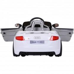CARRO ELÉTRICO INFANTIL AUDI TT RS 12V WHITE 2.4 G 12V