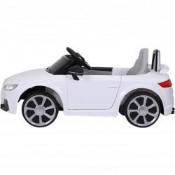 COCHE ELÉCTRICO INFANTIL  AUDI TT RS 12V WHITE 2.4G 12V