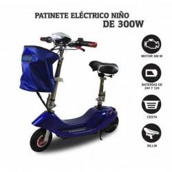 PATINETE ELÉCTRICO NIÑO 300 W